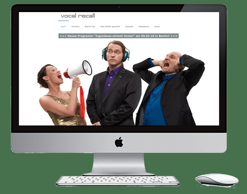 Seitenschmiede_Webdesign_Band