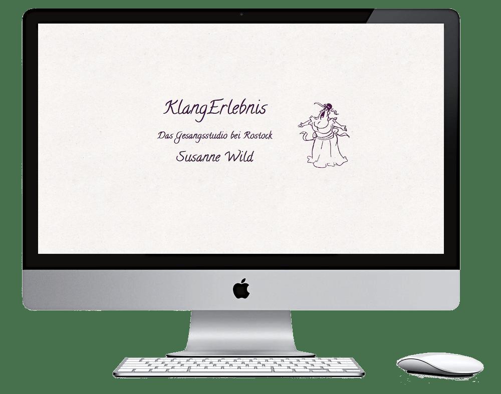 Webdesign Stralsund - Seitenschmiede - Gesangsstudio