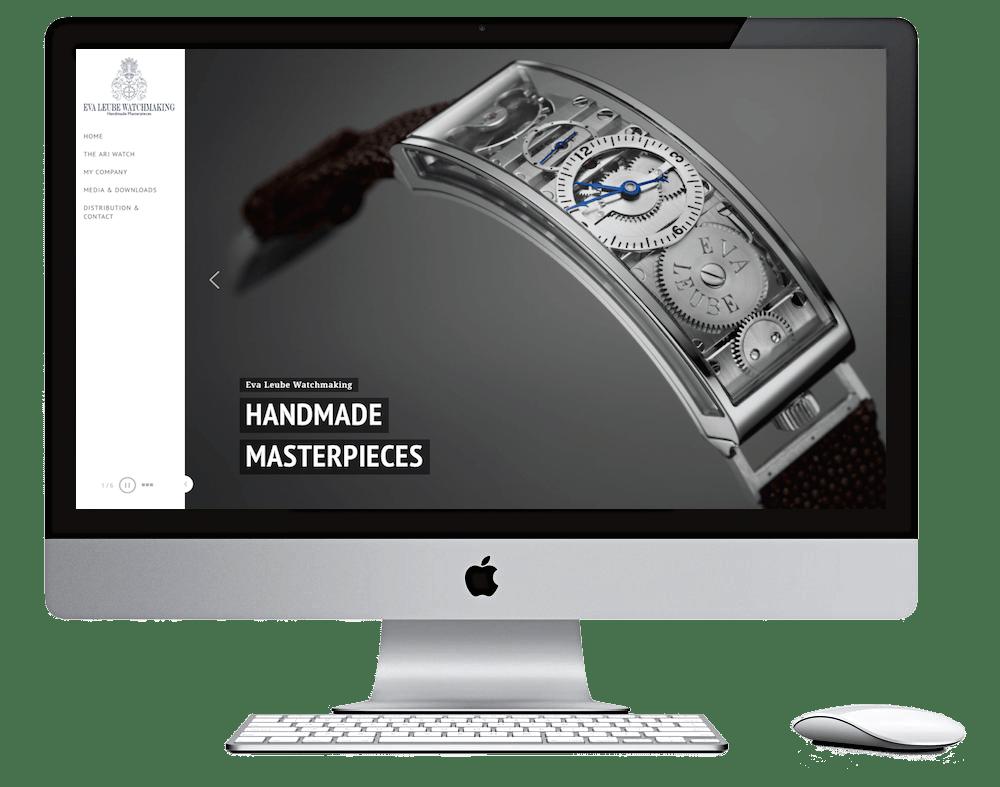Webdesign Stralsund - Seitenschmiede - Uhrmacherin