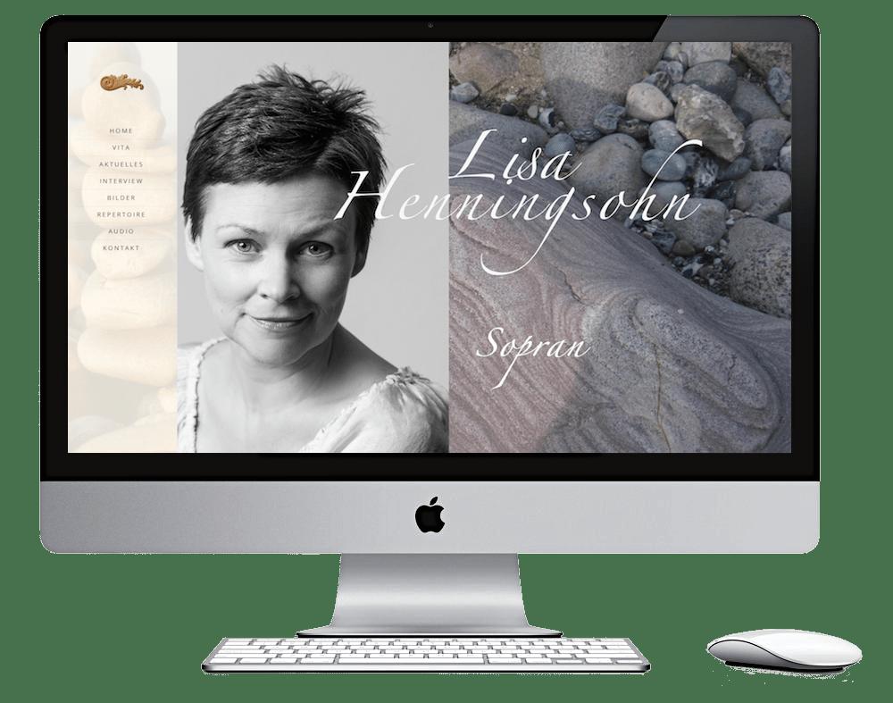 Webdesign Stralsund - Seitenschmiede - Opernsängerin