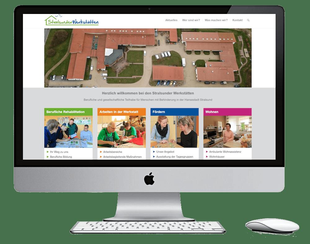 Webdesign Stralsund - Seitenschmiede - Stralsunder Werkstätten
